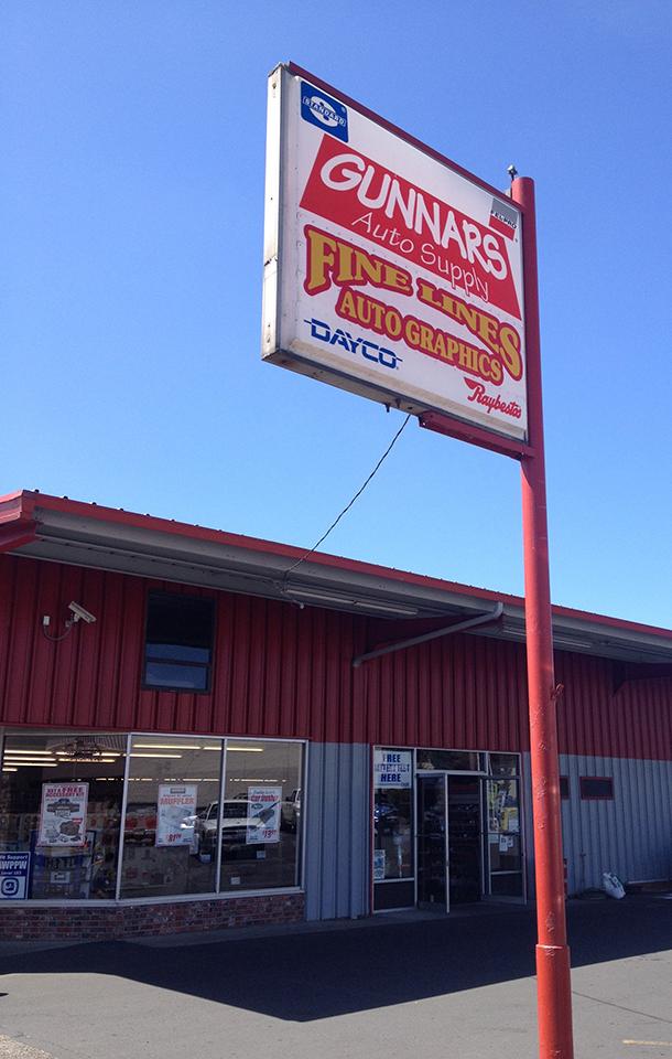 Visit Gunnars in Longview, WA