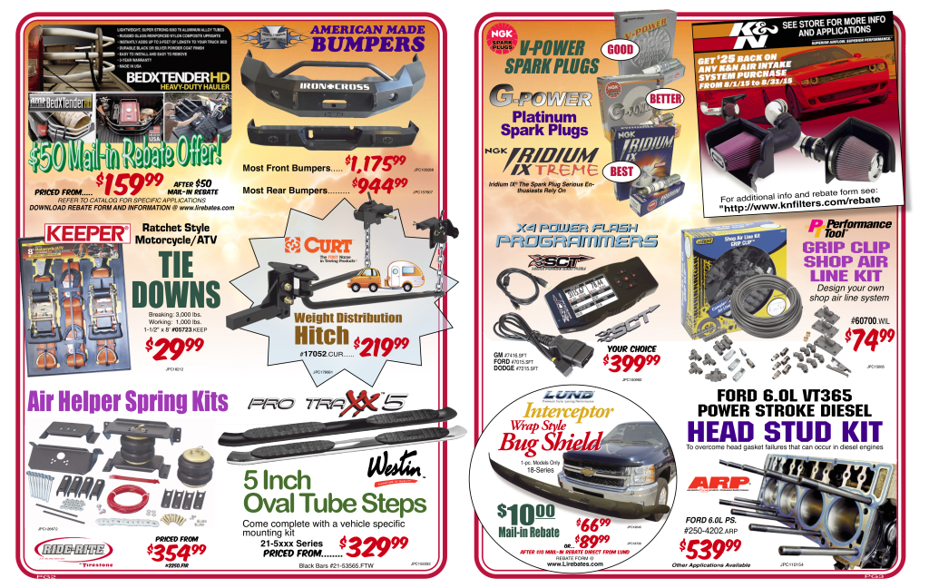 Gunnar's Auto Supply August 2015 Sales Flyer