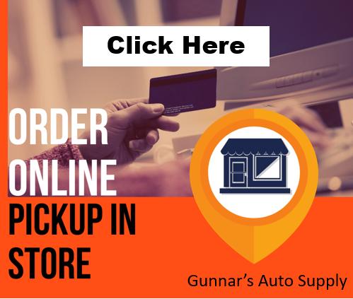 Order Online at Gunnars Auto Supply